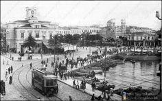 Old Photos, Vintage Photos, Public Transport, East Coast, Athens, Transportation, Greece, Street View, Urban