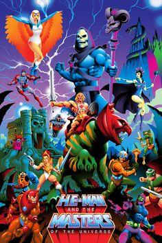 Cartoon Toys, Cartoon Art, He Man Desenho, Robert E Howard, She Ra Princess Of Power, Universe Art, Thundercats, Man Vs, Classic Cartoons