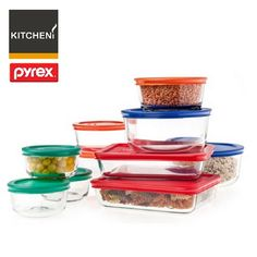 Hey, You Can Only Buy 3 Of These. Leave Some For The Rest Of Us! Update The  Quantity In Your Cart. Pyrex 1117975 Pyrex Storage Plus 20 Piece Set  Quantity 1 ...