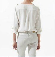 Camisa Feminina Chiffon