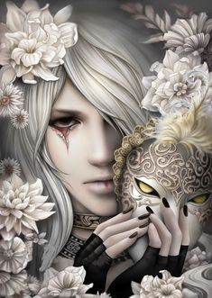 """Fast delivery Diamond Painting Full Square/Round Daimond Painting""""Mask Fantasy Characters Flower""""Mosaic Rhinestone Embroidery Painting - The Effective Pictures We Offer You About mask logo A quality picture can tell you many things. Game Of Thrones Artwork, Goth Art, Image Manga, Dark Fantasy, Final Fantasy, Dark Art, Dark Gothic Art, Gothic Fantasy Art, Gothic Fairy"""