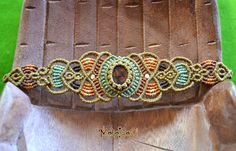 Perlas de Macramè pulsera Brille tu luz con por MahakashiCreations