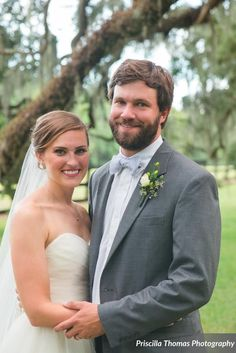 Andrew + Amanda | Rustic Southern Wedding at Boone Hall Plantation by Charleston Wedding Planner ELM Events