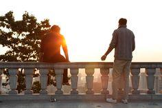 catching the sunrise