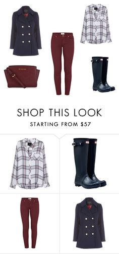 """""""Untitled #41"""" by d-divaa on Polyvore featuring Rails, Hunter, Paige Denim and MICHAEL Michael Kors"""