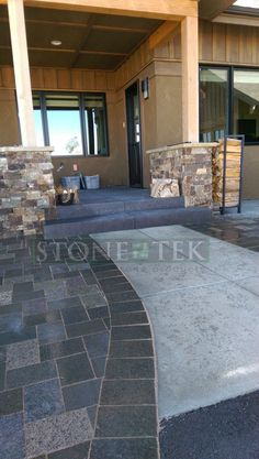Denali Blend Recycled Granite Paver Patio In Bozeman. Love What We Do.