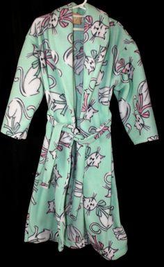 Catnip Fleece Toddler Robe $20.00