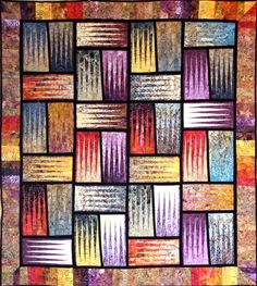Stepping Stones, Quiltworx.com, Made by Certified Instructor Sue Wilson.