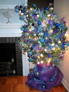 The Hanukkah bush