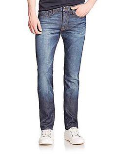 FRAME L'Homme Straight-Leg Jeans - Minaretes - Size