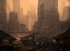 ArtStation - Hope Amidst the Ruins, Eddie Mendoza - post-apocalyptic concept art