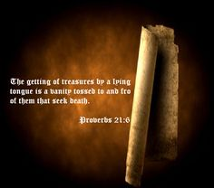 Proverbs 21:6