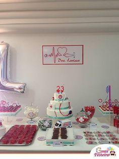 Office Birthday, 12th Birthday, Teen Birthday, Medical Party, Nurse Party, Happy Nurses Day, Grad Party Decorations, 40 And Fabulous, Nursing School Graduation