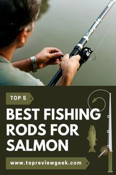 This article is all about Best fishing rods for salmon. Researching for a product is boring, isn't it? don't u worry, we did it for you! Find yours now. Best Fishing Reels, Fishing Uk, Fishing Shop, Fishing Videos, Walleye Fishing, Fishing Guide, Salmon Fishing, Bass Fishing Shirts, Fishing Quotes