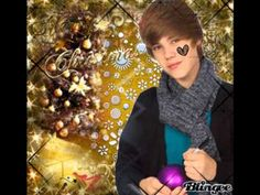 Justin Bieber wish you a merry christmas