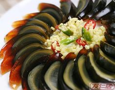 Century egg with ginger       THE LIBYAN    Esther Kofod    www.estherkofod.com