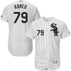 e7663c555 Men s Chicago White Sox Jose Abreu Majestic Home White Flexbase Authentic  Collection Player Jersey
