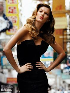 Gisele Bundchen #style #fashion #model
