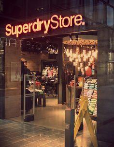 Superdry. Leipzig