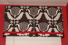 DIY box valence | ... valance), just bottom (as on my powder room valance), or create a more