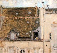 Pierre Bonnard - Rooftops (1897)
