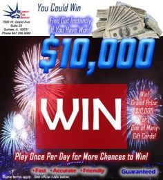 Liberty Tax Service Win $10K Instant Win Game