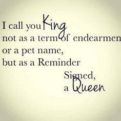Cory you.... are my King and my lifetime