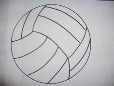 Como desenhar uma bola de vôlei