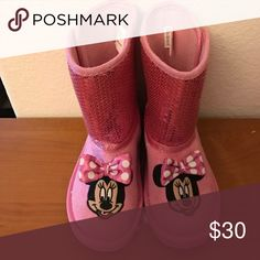 Cute boots Good condition Disney Shoes Boots