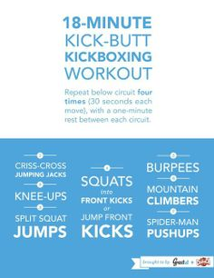 Kick Butt Workout Circuit Routine
