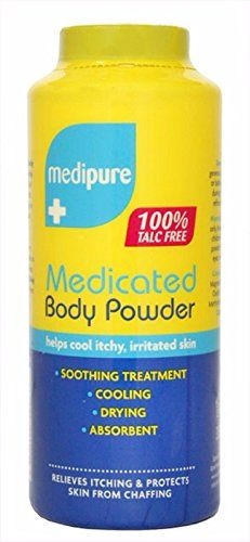 Cosmetics UK - MEDIPURE MEDICATED BODY POWDER 100% TALC FREE 200g FREE FAST DELIVERY