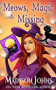 Meows, Magic & Missing (Lake Forest Witches Book 3) by Madison Johns http://www.amazon.com/dp/B0191A633W/ref=cm_sw_r_pi_dp_IB.Awb0EC6C7N