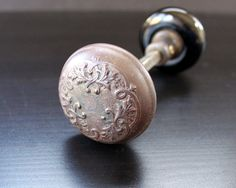 """My husband could just give me a box of antique doorknobs for our anniversary and I would """"squee!"""" and fall over. I'm a little """"Aunt Clara"""" about antique doorknobs."""