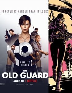 The Old Guard (A Velha Guarda), novo filme baseado na banda desenhada com o mesmo nome da Image Comics. Estreia dia 10 de Julho de 2020 na plataforma Netflix... #bdcomicspt #trailer #poster Netflix, Bd Comics, July 10, Trailer, Charlize Theron, Old Things, Movie Posters, Movies, Upcoming Movies