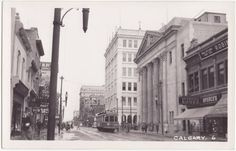 Historic Stephen Ave. Calgary, Alberta