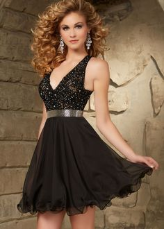 Sticks & Stones by Mori Lee 9331 Lace Halter Party Dress