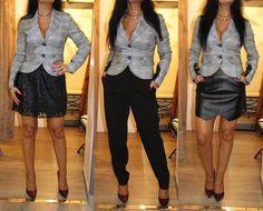 Um blazer 3 looks