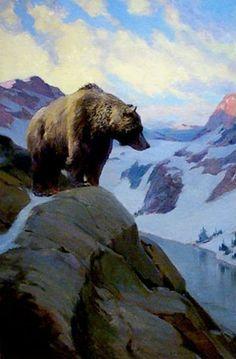 Dunton, William Herbert (b,1878)- Bear
