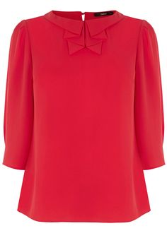 Pleat Collar Long Sleeve Top/Blouse (Product code: 4490147738) £28.00 from: http://www.oasis-stores.com/pleat-collar-long-sleeve-top/tops/oasis/fcp-product/4490147738