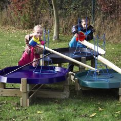 Outdoor Active World Units - good for messy play - including water