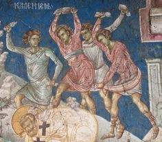 Иконография. Фигуры Fresco, Church Interior, Byzantine Icons, Orthodox Icons, Ministry, Painting, Composition, Life, Romans