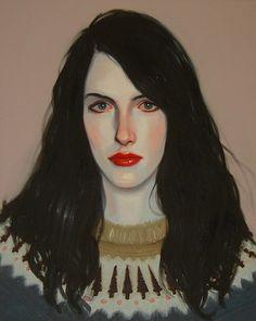 "Kris Knight Moonshine 2009 oil on canvas 16x20"""
