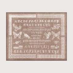 Pretty French sampler