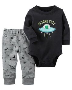 a53717be1 Baby Boy 2-Piece Bodysuit Pant Set from Carters.com. Shop clothing &
