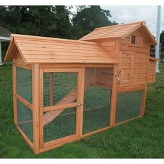 $273 Aosom Large Pawhut Chicken Coop | Wayfair