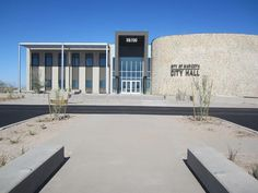 Maricopa City Hall Entry Sign