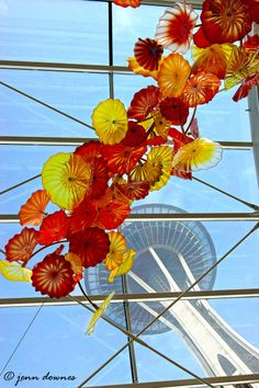 Chihuly Glass Museum, Seattle Image by Jenn Downes