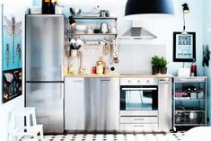 These small kitchen ideas will show you how to release your cramped kitchen's space-making potential.