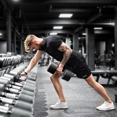 "439 Likes, 10 Comments - Tobias (@tobilikee) on Instagram: ""Back attack with my new @puma #tsugi Sneakes . Dumbbell rows is one of my favorite back exercises…"""