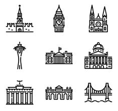 icon packs of building Building Icon, Font Free, Search Icon, Edit Icon, All Icon, Icon Pack, Icon Font, Vector Icons